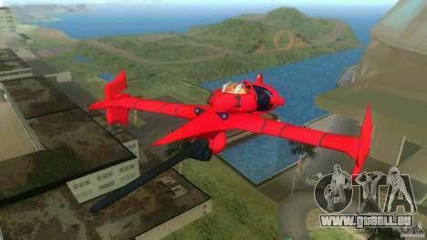 Swordfish Mono Racer pour GTA Vice City