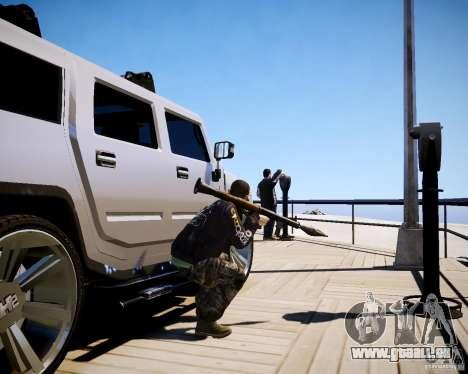 CoD Black Ops Hudson für GTA 4 neunten Screenshot