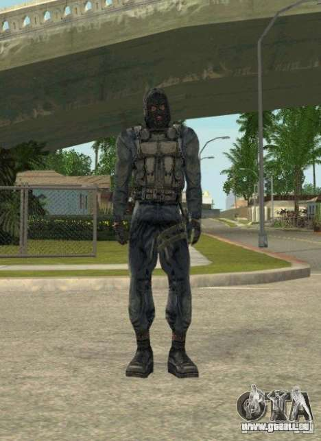 Regroupement de mercenaires d'un harceleur pour GTA San Andreas neuvième écran