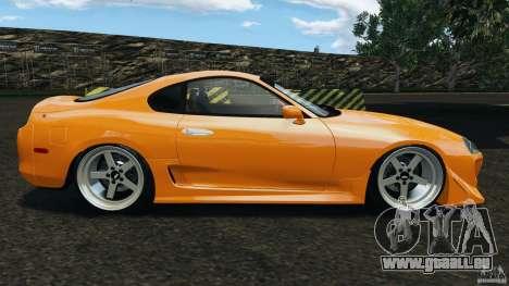 Toyota Supra Tuning pour GTA 4 est une gauche