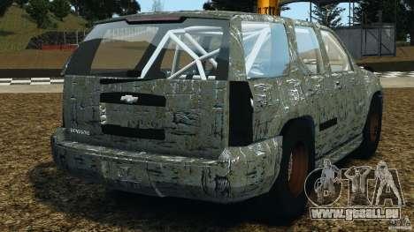 Chevrolet Tahoe 2007 GMT900 korch [RIV] für GTA 4 hinten links Ansicht