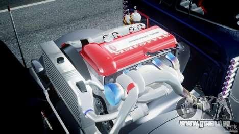 Peterbilt Truck Custom für GTA 4 rechte Ansicht