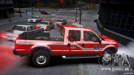 Ford Chief F250 pour GTA 4 est une vue de l'intérieur