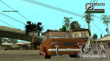 Lada 2101 OnlyDropped pour GTA San Andreas vue de droite