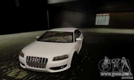 Audi S3 pour GTA San Andreas vue de dessus