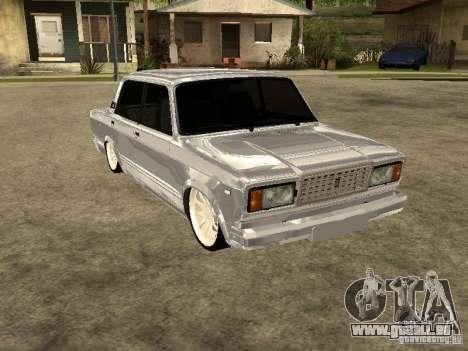 VAZ 2107 Convertible pour GTA San Andreas sur la vue arrière gauche