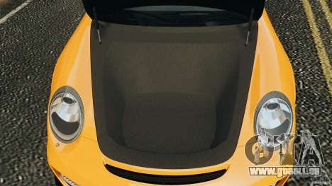 Porsche 911 GT2 RS 2012 v1.0 pour GTA 4 est une vue de dessous