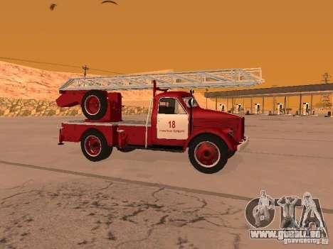 GAZ-51 ALG-17 pour GTA San Andreas laissé vue