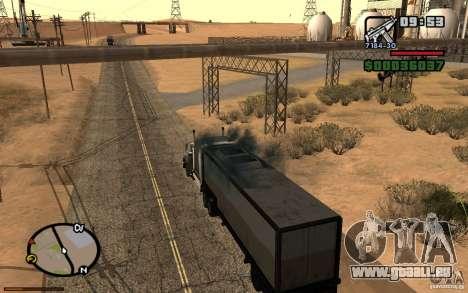 Tableau de bord actif 3.1 pour GTA San Andreas sixième écran