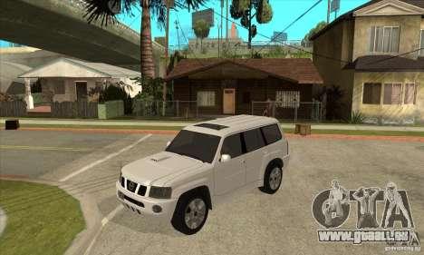 Nissan Patrol 2005 Stock pour GTA San Andreas vue de côté