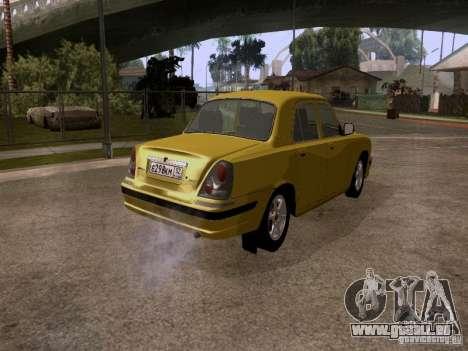 GAZ Wolga 31107 für GTA San Andreas zurück linke Ansicht