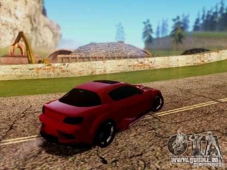 Mazda RX8 Reventon für GTA San Andreas rechten Ansicht