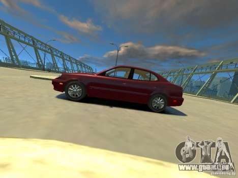 Daewoo Leganza CDX pour GTA 4 est une gauche