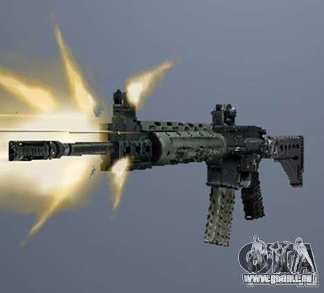 Une série d'armes de stalker V3 pour GTA San Andreas deuxième écran