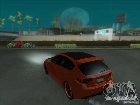 Subaru Impreza WRX STi pour GTA San Andreas roue