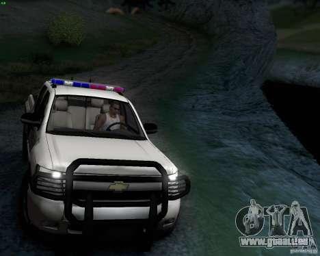 Chevrolet Silverado Police pour GTA San Andreas