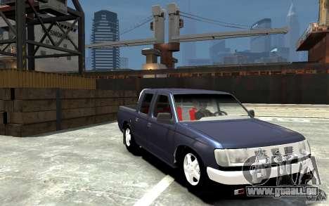 Nissan Pickup V 2005 pour GTA 4 Vue arrière