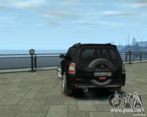 Mitsubishi Pajero pour GTA 4 est un droit
