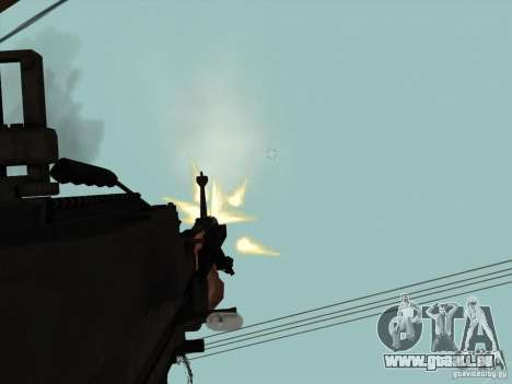 M60E4 pour GTA San Andreas quatrième écran