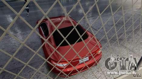 Maserati Gran Turismo 2008 Beta pour GTA 4 Vue arrière
