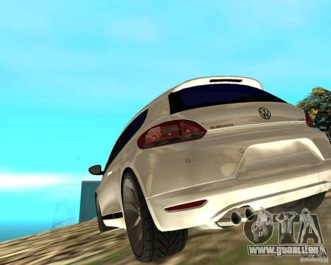 VW Scirocco III Custom Edition für GTA San Andreas