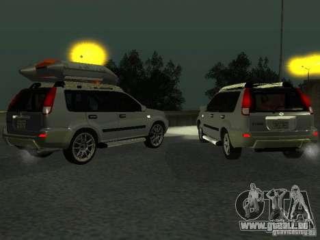 Nissan X-Trail pour GTA San Andreas vue intérieure