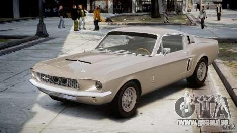 Shelby GT500 1967 pour GTA 4