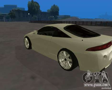 Mitsubishi Eclipse Tunable für GTA San Andreas linke Ansicht