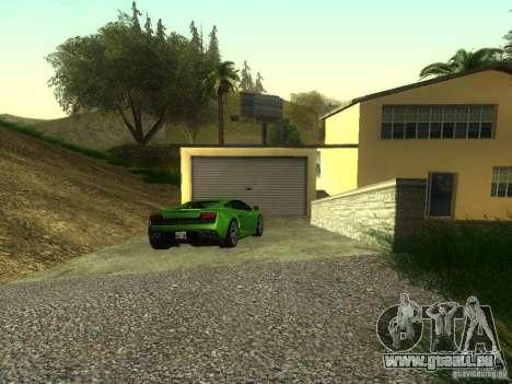 Teure Autos in der exklusiven Gegend von Los San für GTA San Andreas zweiten Screenshot