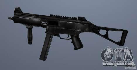 KM UMP45 Counter-Strike 1.5 pour GTA San Andreas troisième écran