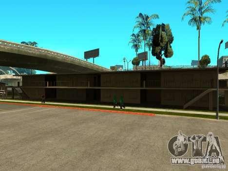New Grove Street TADO edition pour GTA San Andreas septième écran