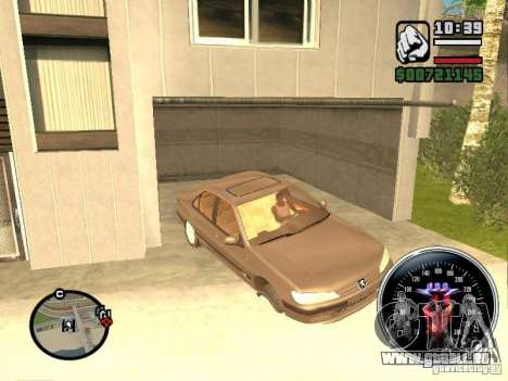 Speed Udo pour GTA San Andreas quatrième écran