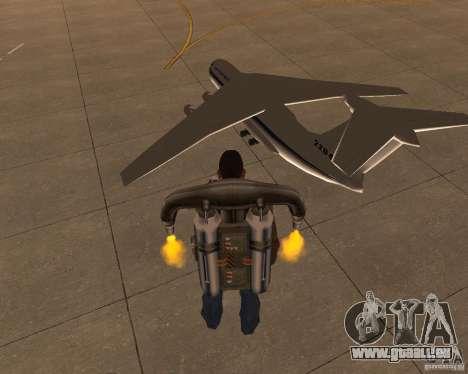 L'IL-76 pour GTA San Andreas laissé vue