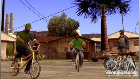 Enregistrer les infos de récupération automatiqu pour GTA San Andreas deuxième écran