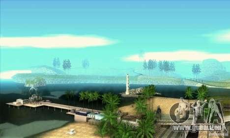 SA_gline v3.0 pour GTA San Andreas quatrième écran