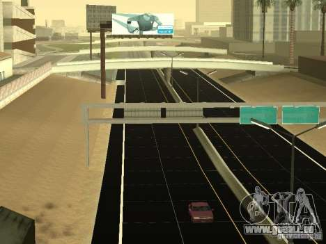 New Roads in San Andreas für GTA San Andreas her Screenshot