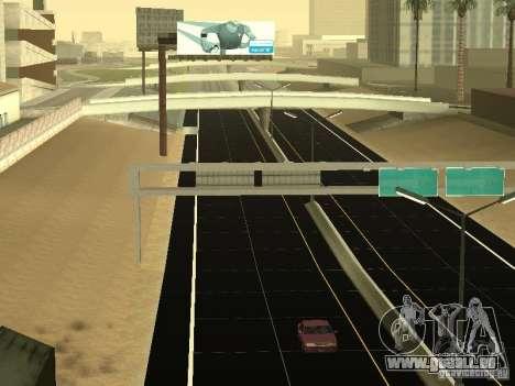 New Roads in San Andreas pour GTA San Andreas quatrième écran