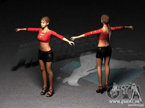 Skin Girl NFS PS pour GTA San Andreas
