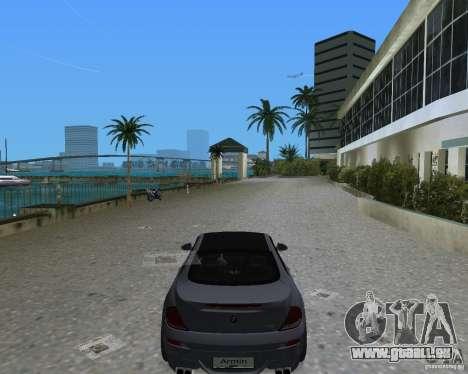 BMW M6 für GTA Vice City zurück linke Ansicht