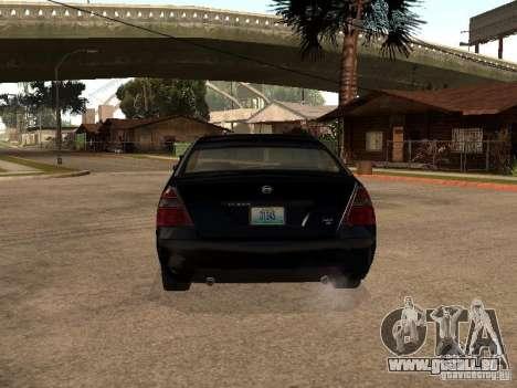 Nissan Teana für GTA San Andreas rechten Ansicht
