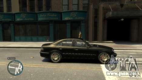 Mercedes-Benz E55 W211 pour GTA 4 est une gauche