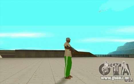 Pantalon adidas pour GTA San Andreas quatrième écran