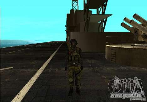 Haut von Battlefield 3 für GTA San Andreas