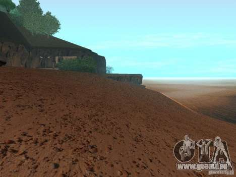 HQ Strand v1. 0 für GTA San Andreas her Screenshot