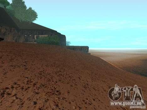 HQ Beach v1.0 pour GTA San Andreas quatrième écran