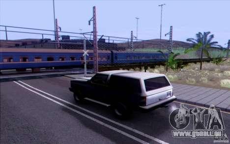 Russische Bahn Version V1. 0 für GTA San Andreas dritten Screenshot