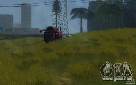 Végétation parfaite c. 2 pour GTA San Andreas quatrième écran