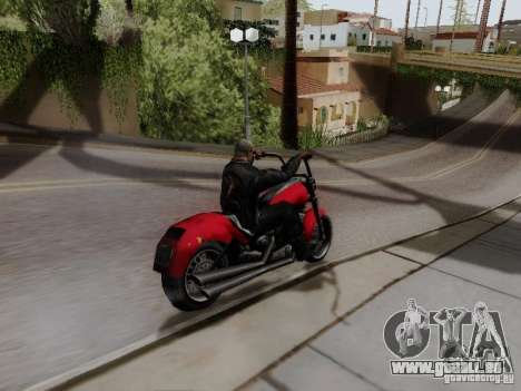 Vice City Freeway für GTA San Andreas zurück linke Ansicht
