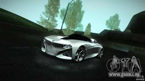 BMW Vision Connected Drive Concept für GTA San Andreas rechten Ansicht