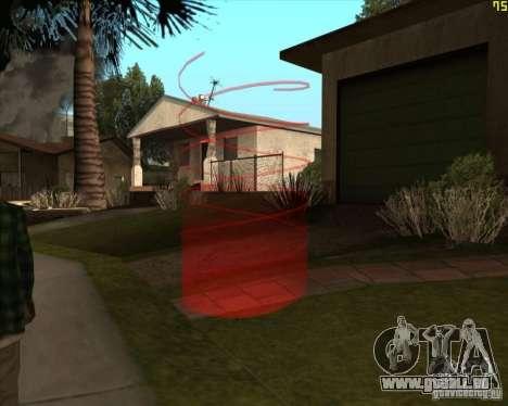 Nouveaux marqueurs pour GTA San Andreas troisième écran